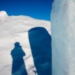 Wikinger mit Eisblock