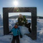 Familienbild am Tornestrand