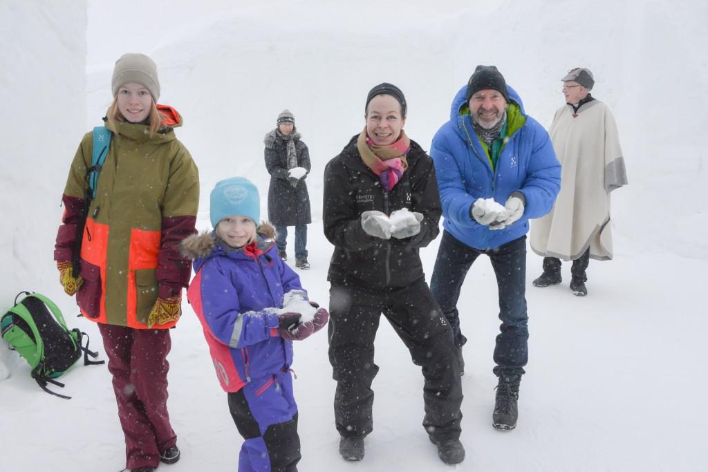 Schnee statt Reis, Hochzeit im Icehotel