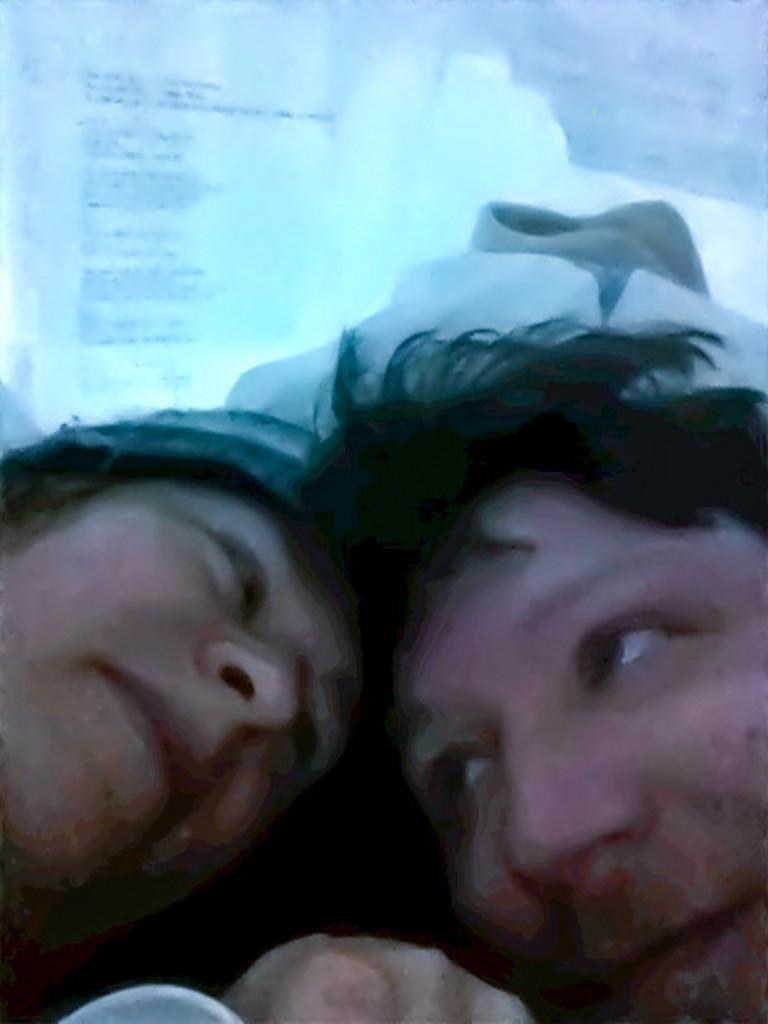 Aufwachen in der Artsuite Elliptical Hochzeit im Icehotel