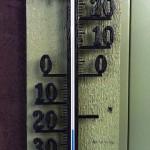 bei minus 20 Grad