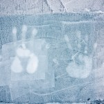 memories an der Wand der Icebar