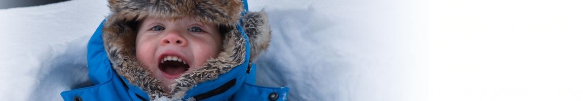 Norwegen mit viel Schnee
