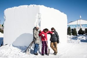 Québec Snowsculpting Competition