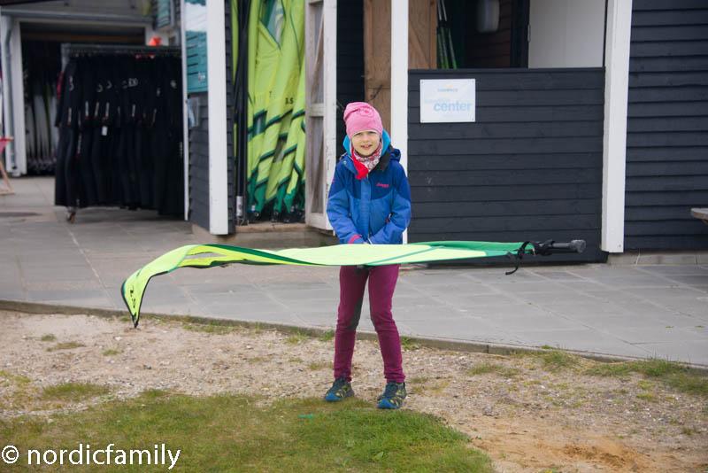 surfen bei Westwind