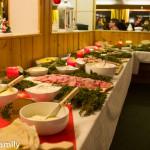 Norwegisches Buffet in Venabu