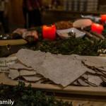 Norwegisches Buffet in Venabu Flatbröd