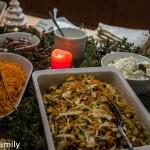 Norwegisches Buffet in Venabu Rohkost