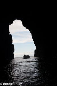 Konzert in einer Grotte