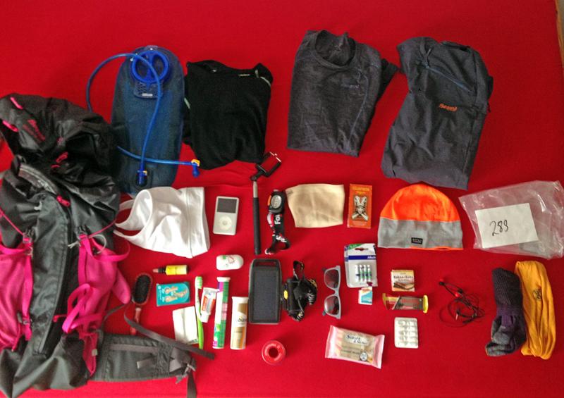 DEin Ostseeweg Packliste