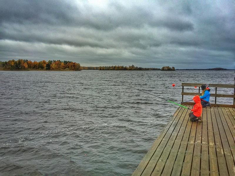 Småland bei Regen