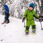 Schneeschuhwandern in Vuokatti