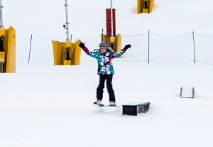 Skifahren in Vuokatti
