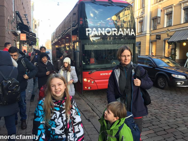 Panoramabus Helsinki