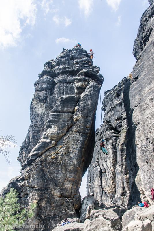 Klettern Elbsandsteingebirge