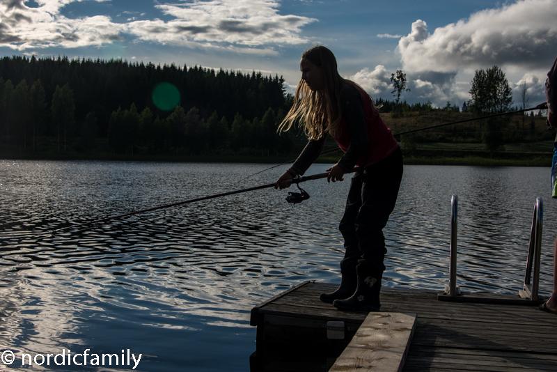 Zentral Finnland mit Familie