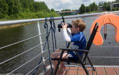 Hausboot fahren in Finnland