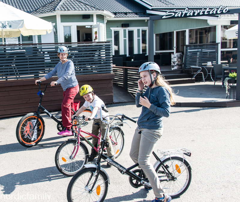 Fahrrad in Kalajoki