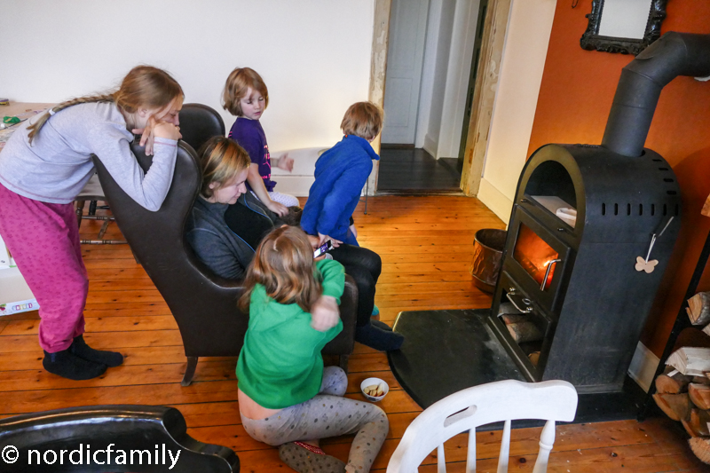 Fjelde Guesthouse mit Kindern