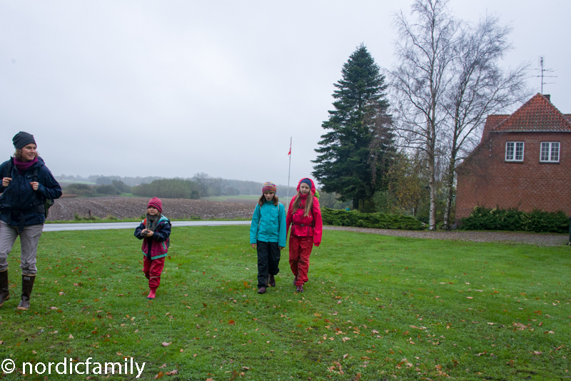 Wandern mit Kindern auf Falster