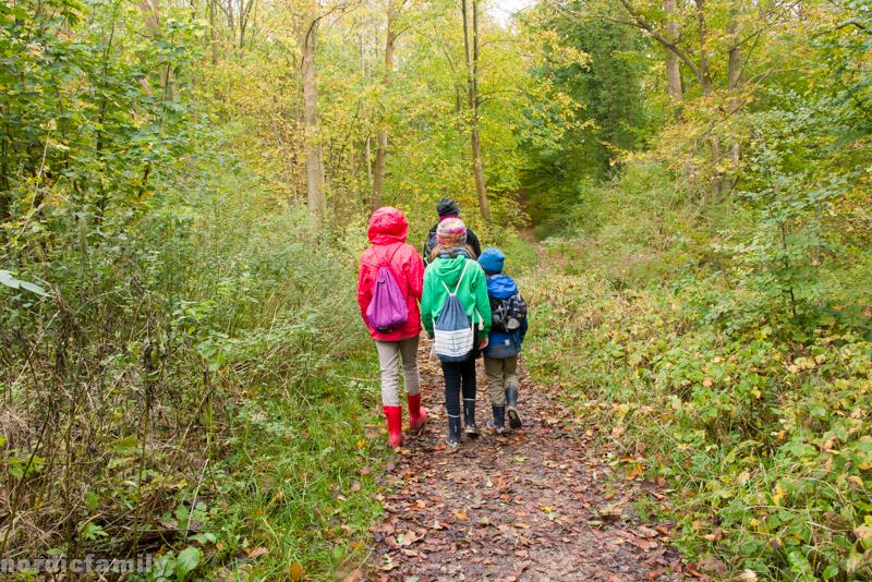 Wandern auf Mön mit Kindern