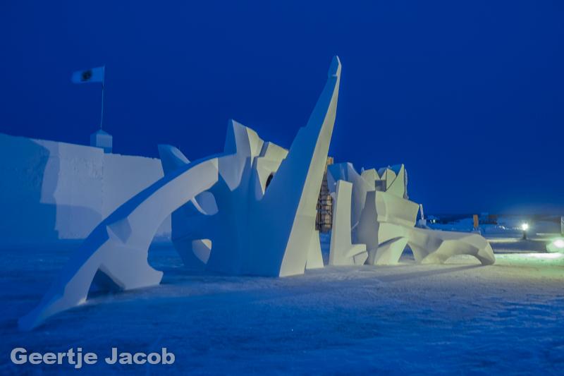 Snowking Festival in Yellowknife