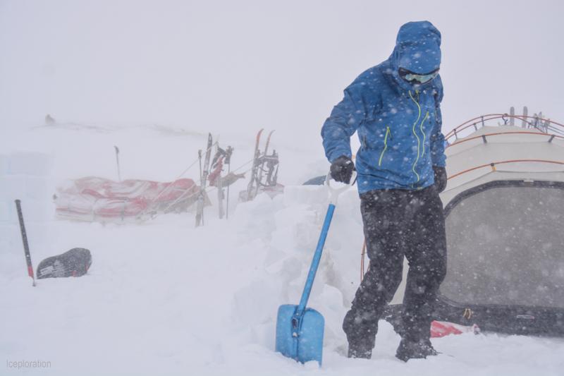 Campaufbau in der Hardangervidda