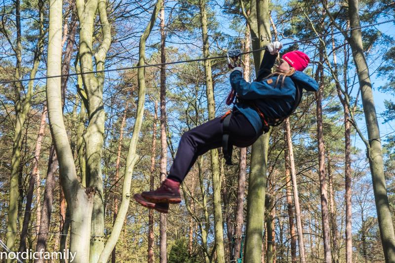 Familienurlaub auf Usedom Kletterwald