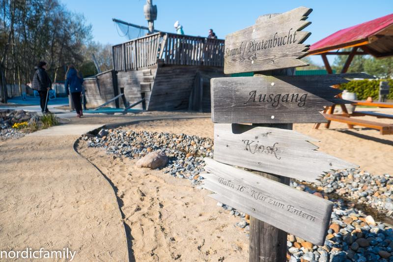 Familienurlaub auf Usedom Minigolf