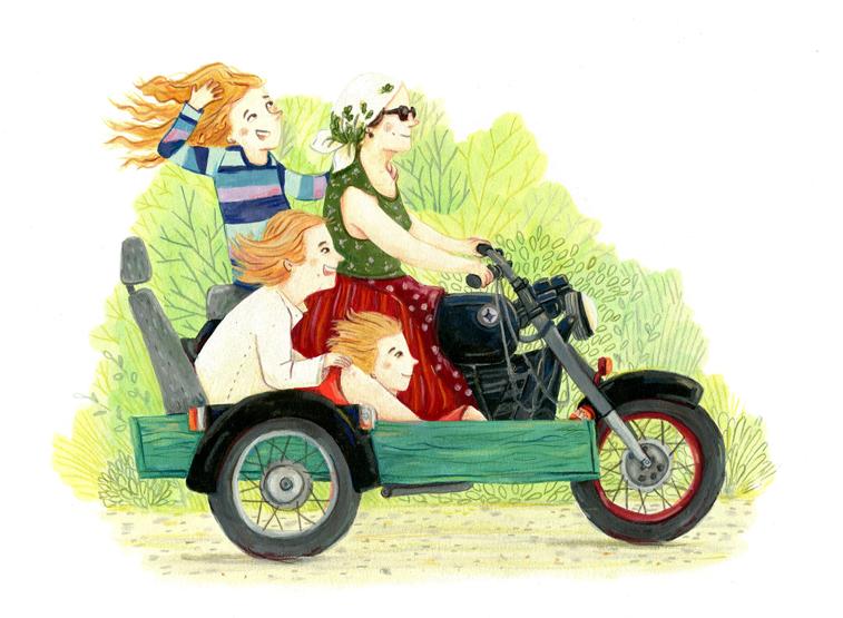 Reise-Zeichnungen Anna Laura Jacobi