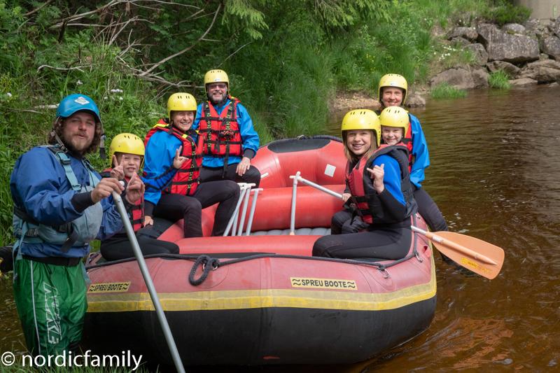 Rafting in Südnorwegen