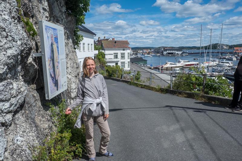 norwegische Küste Edvard Munch