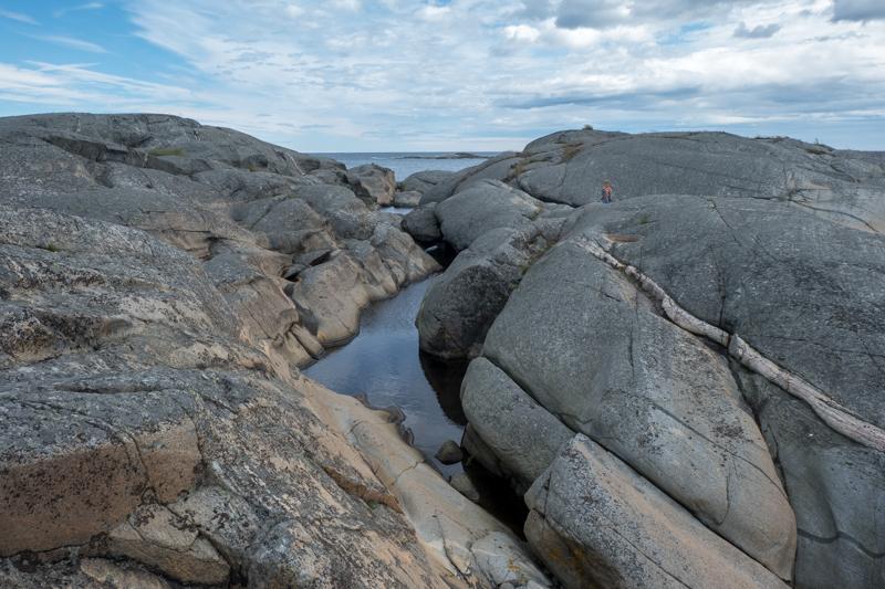 norwegische Küste Geopark