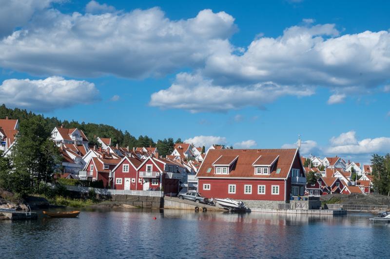 norwegische Küste Levang