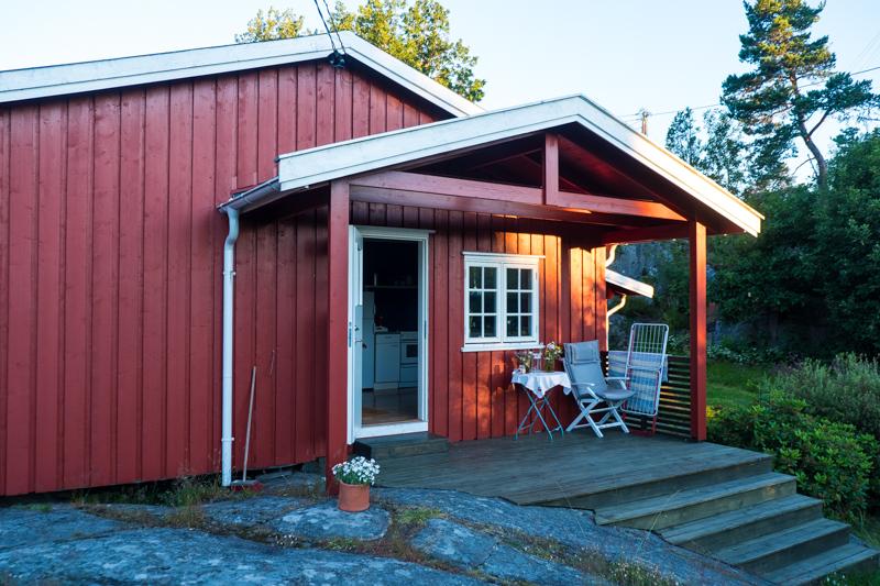 norwegische Küste Ferienhaus