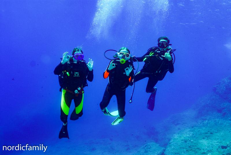 Deep blue auf Kreta