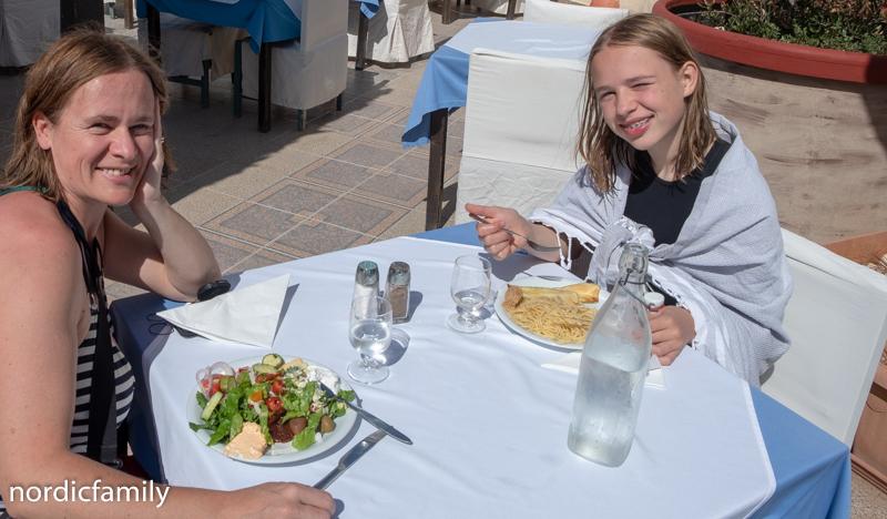 Frühstück im Cretan Village Resort und Spa