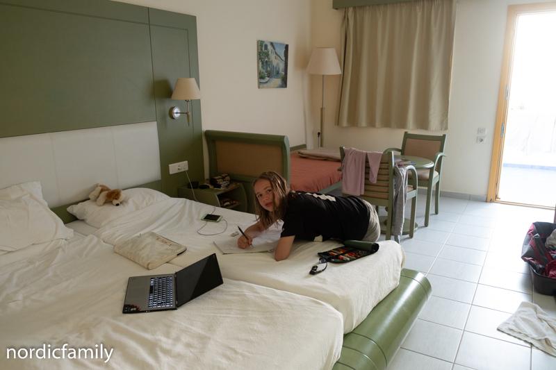Unser Zimmer auf Kreta