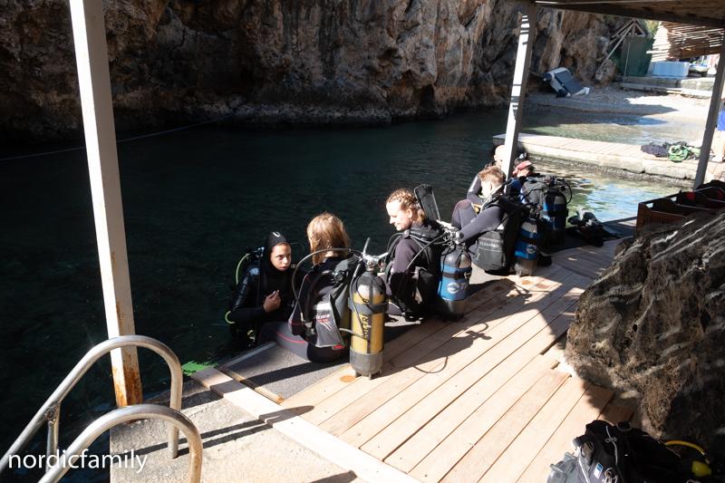 Tauchen auf Kreta