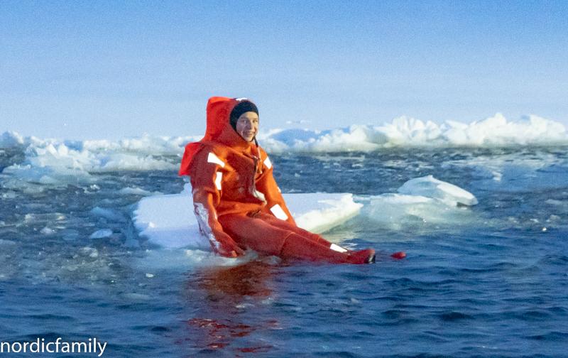 Arctic Explorer Icebreaker Überlebensanzug