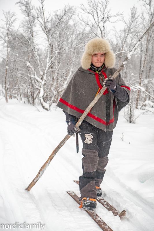 Samische Waldskier