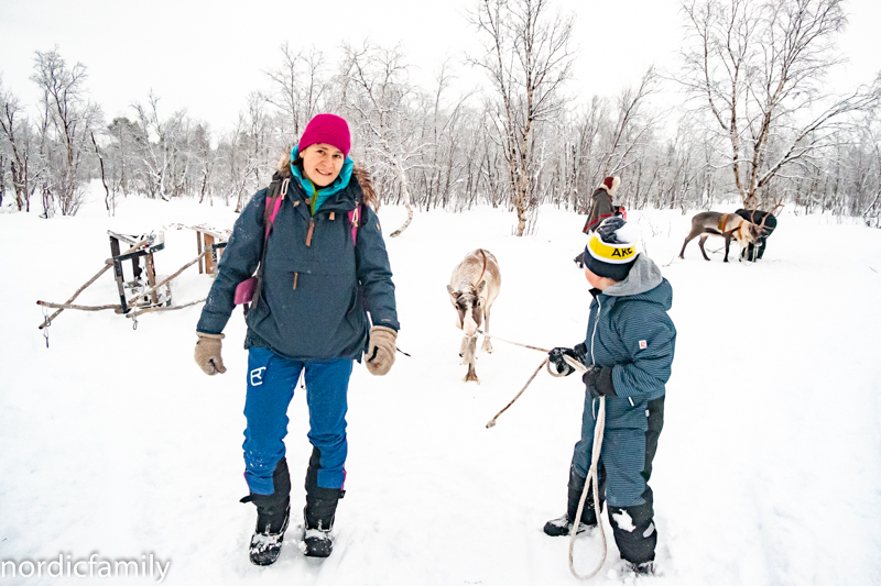 Winterreise in Schwedisch Lappland
