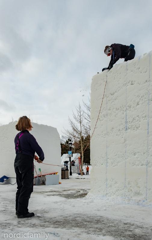 Snowsculpting Ropesaw