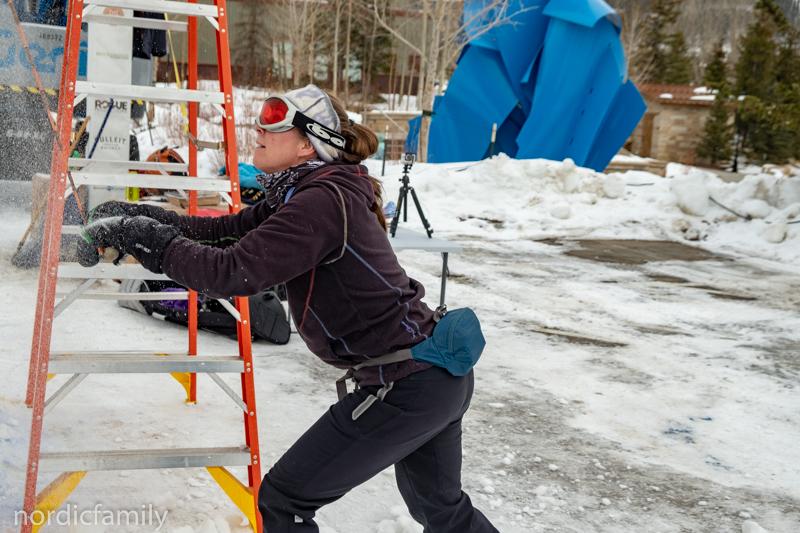 Snowsculpting Jodine
