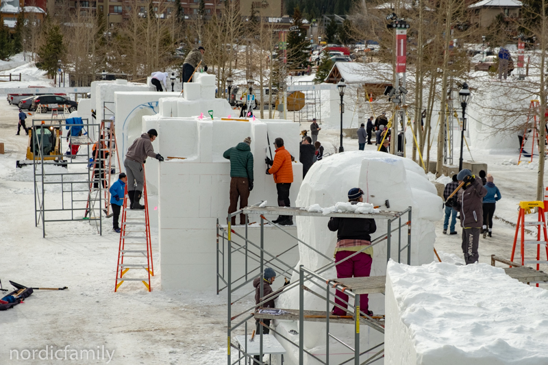 Snowcarving Competition