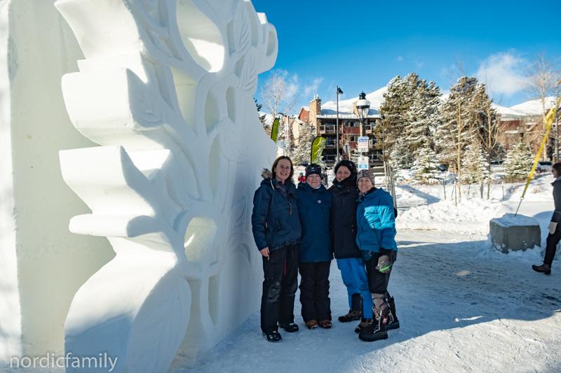 Deutsches Team im Snowsculpting