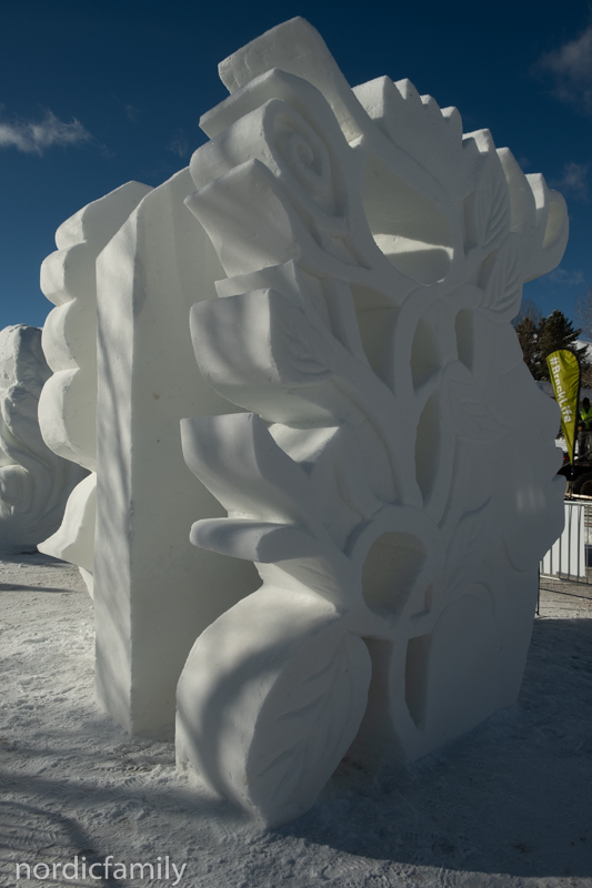 Mutter Erde, Snowsculpture