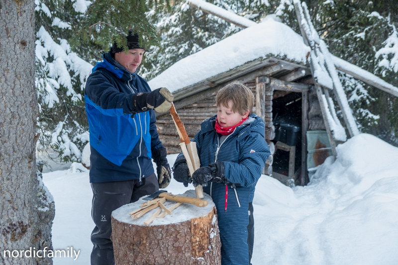 Adventure Åre  Holzhacken