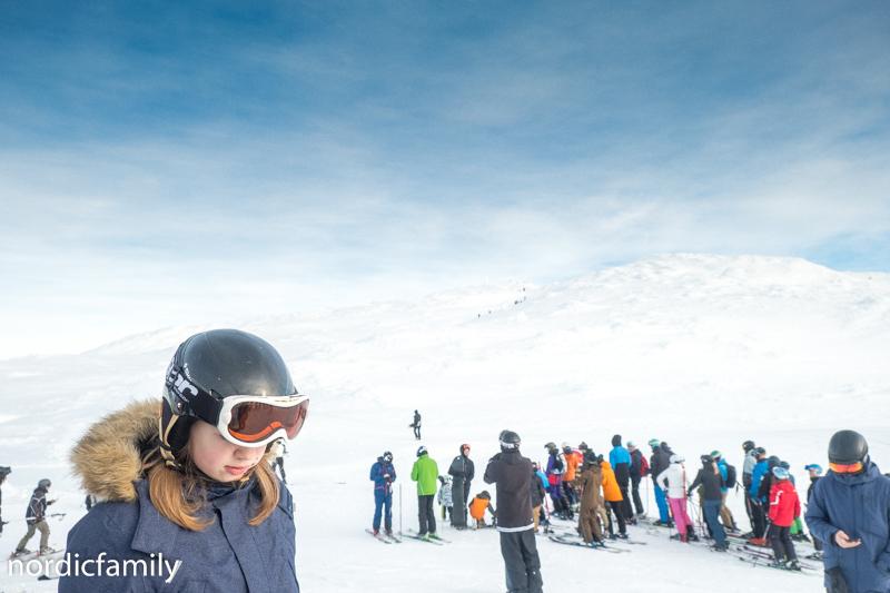 Åre Skutan Ski Fahren