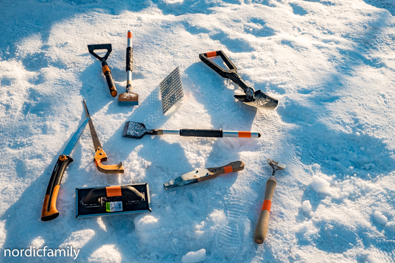 Snowfest in Nallikari Tools